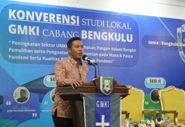 Konferensi Studi Lokal GMKI, Ini Pesan Plt Gubernur Bengkulu