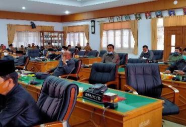 Fraksi DPRD BU Setuju Raperda Perubahan Nomor 14 Tahun 2016…