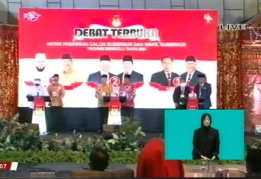 Debat Kandidat, Helmi Hasan Dianggap Tak Maksimal Menjadi…
