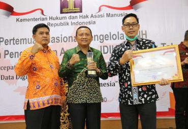 Bengkulu Anggota JDIH Terbaik I Nasional 2020