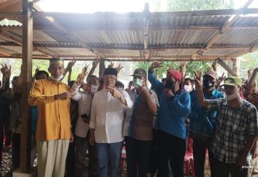 Harapkan Pembangunan, Masyarakat Unit 9 Percayakan Rohidin…