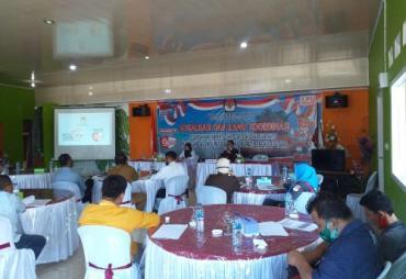 KPU Bengkulu Utara Sosialisasi dan Rakor Terkait…