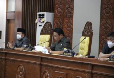 Raperda RAPBD 2021 'Ketok Palu' Jadi Perda