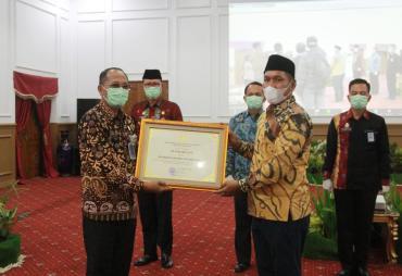Pemprov Bengkulu Raih Penghargaan Pelayanan Publik Berbasis…