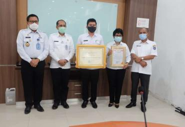 DPRD Bengkulu Utara Terima Penghargaan dari Kemenkumham…