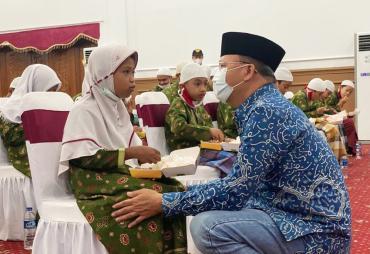 Milad ke-51 Gubernur Rohidin Memohon Doa Keberkahan