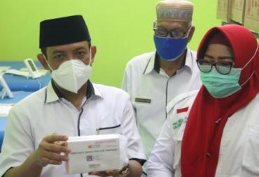 Kota Bengkulu Terima 9040 Vaksin Sinovac