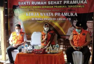 Bupati Launching Kegiatan Bakti Rumah Sehat Tanggamus