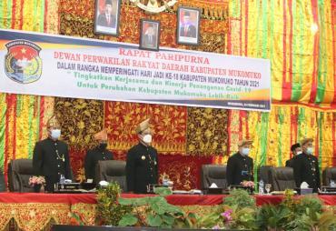 Paripurna DPRD Mukomuko Agenda Memperingati Hari Jadi…