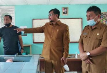 Sidak, Waka II DPRD Provinsi Bengkulu Pastikan KBM SMAN 5…