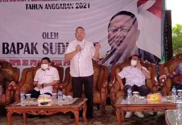 Ketua Komisi IV DPR RI, Reses di Tanggamus