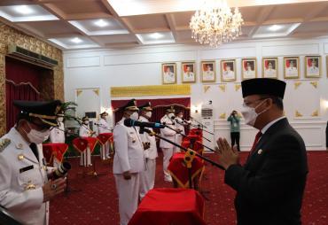 Lantik 7 Bupati-Wabup,  Gubernur Rohidin Tegaskan Perkuat…