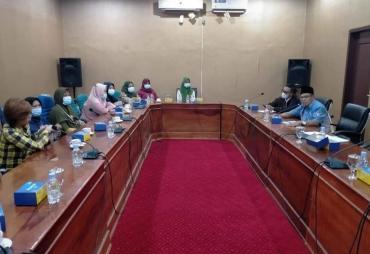 Terkait Relokasi Lahan, Dewan Kota Bengkulu Audensi dengan…
