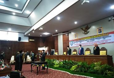 Paripurna PAW Dewan Provinsi Bengkulu, Risman Gantikan…