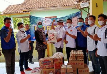 Ketua DPD GPAN Tanggamus Beri Bantuan Sembako Korban Banjir